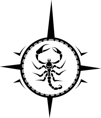 30black scorpio tattoo idea