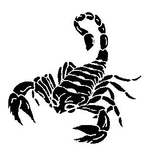 31black scorpio tattoo idea