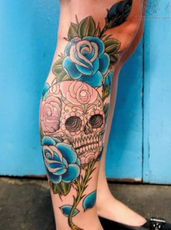 34leg tattoo idea