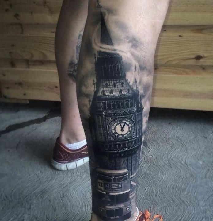 38leg tattoo idea