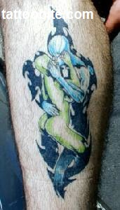 39Alien tattoo idea