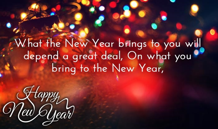 4  - Happy new year wishes and  Quotes