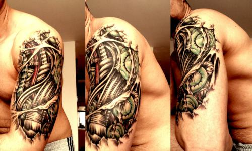 42biomechanical tattoo idea