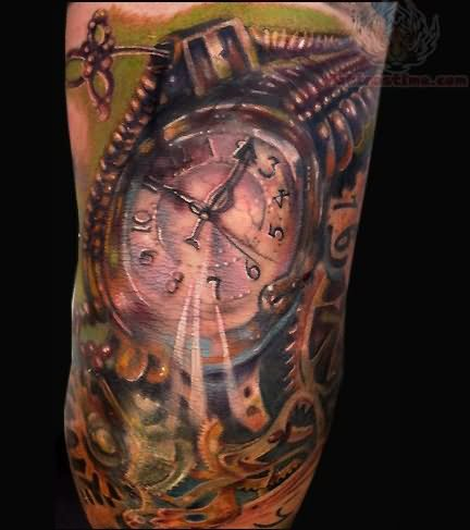 44biomechanical tattoo idea