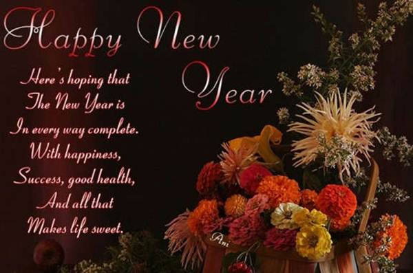 46  - Happy new year quotes and  sayings