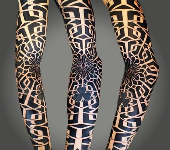 54leg tattoo idea