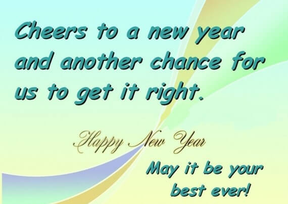 58  - Happy new year quotes and  sayings