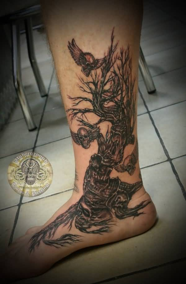 59leg tattoo idea