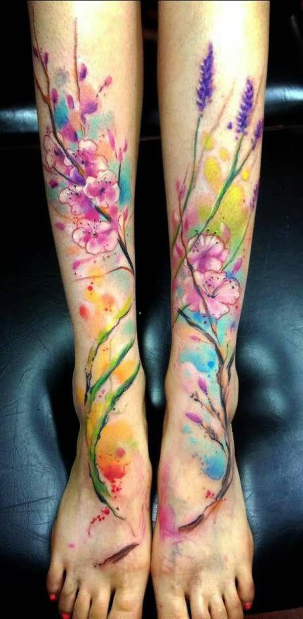 72leg tattoo idea