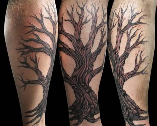 76leg tattoo idea
