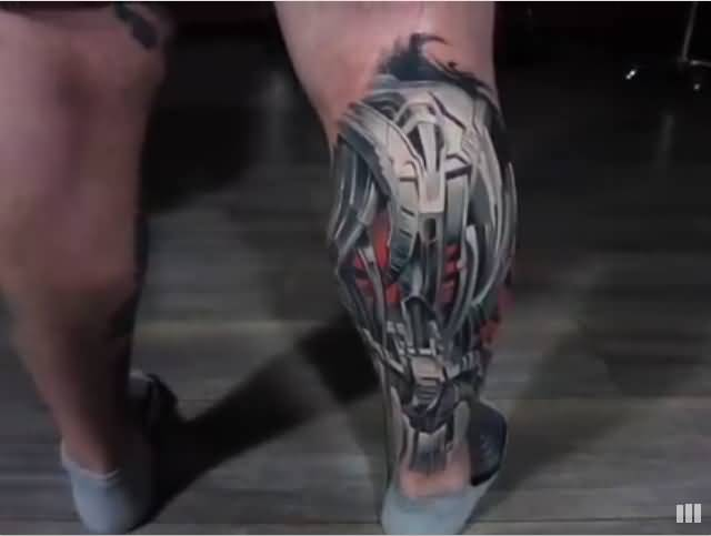 91leg tattoo idea