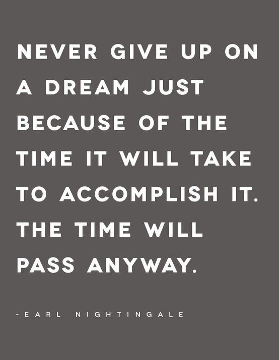 never-give-up-on-a-dream-just-because-of-the-time-it-will-take-to-accomplish-itthe-time-will-pass-anyway-goal-quote