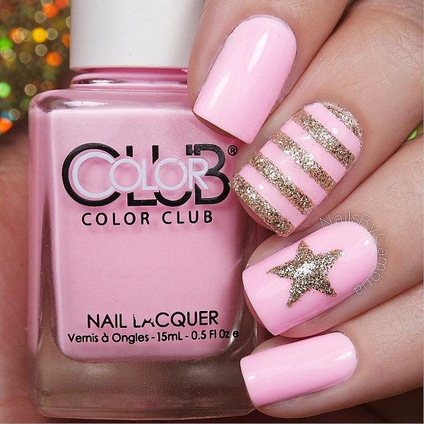 pink-with-star-glitter-nail-18