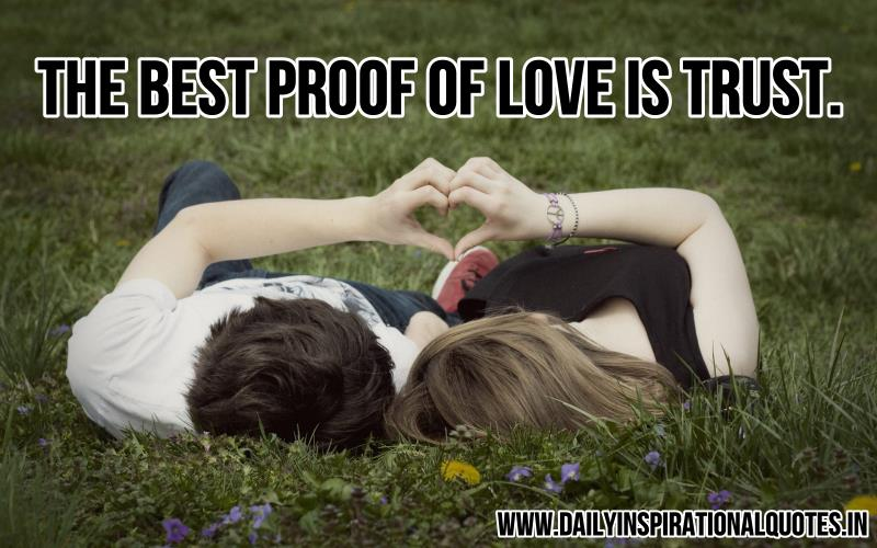 the-best-proof-of-love-is-trust