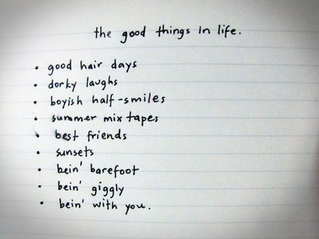 the-good-things-in-life-inspirational-quote