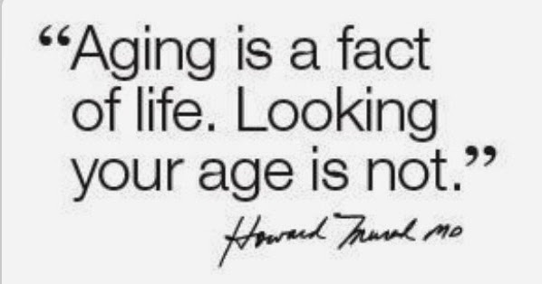Aging is a fact of life. Looking your age is not. Dr. Howard Murad