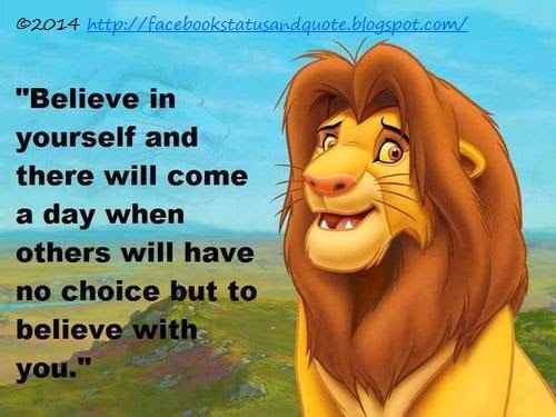 Believe in yourself and there will come a day when others will have no choice but to believe with you. Cynthia Kersey