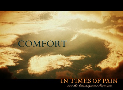 Comfort in times of pain