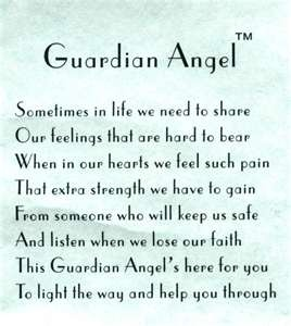 Sometimes in life we need to share our feelings that are hard to bear. When in our ... lose our faith. This Guardian Angel's here for you to light the way and help you through