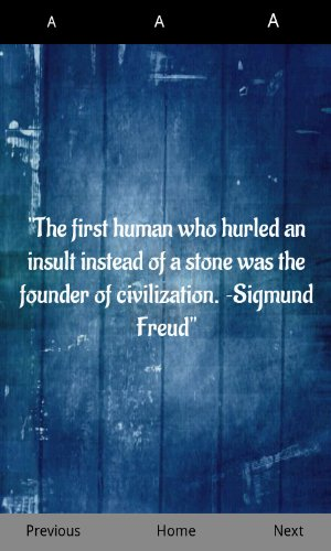 The first human who hurled an insult instead of a stone was the founder of civilization. Sigmund Freud