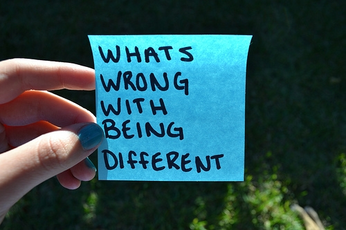 Whats wrong with being different