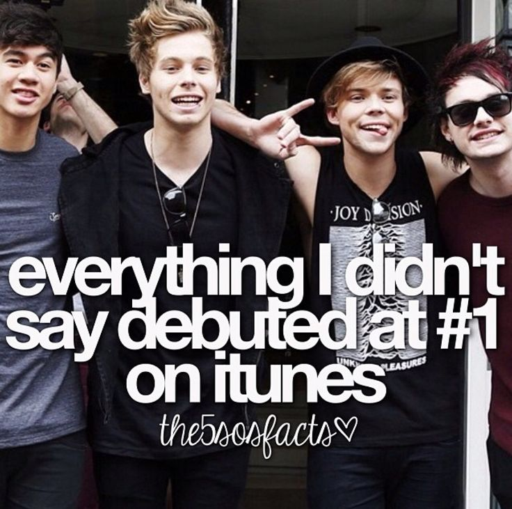 5sos quotes and sayings about itunes