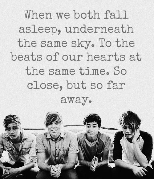 5sos quotes and sayings images - beat of heart