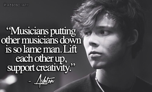 5sos quotes and sayings images - lift creativity