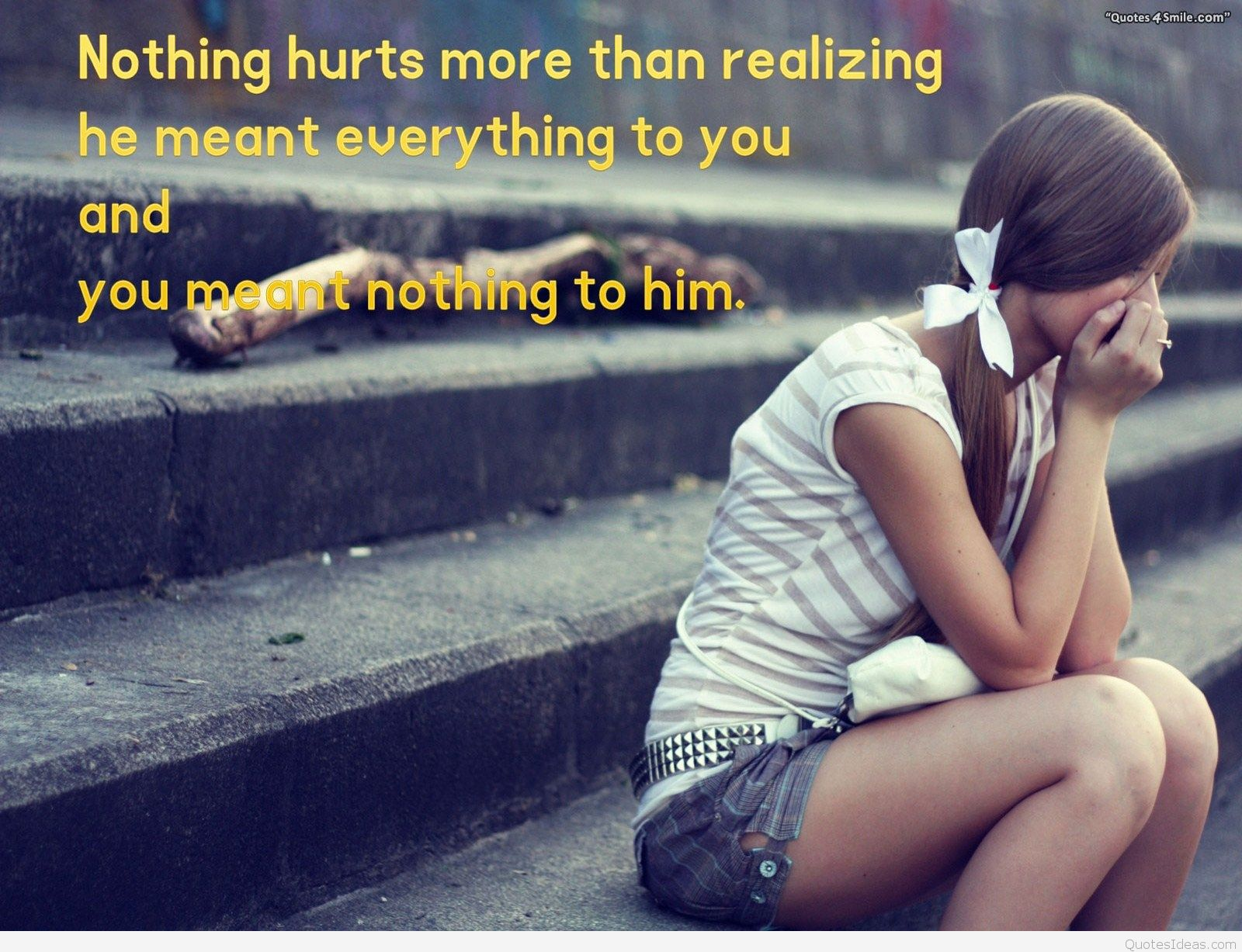 Amazing Sad love quotes and pictures about bas love relationships