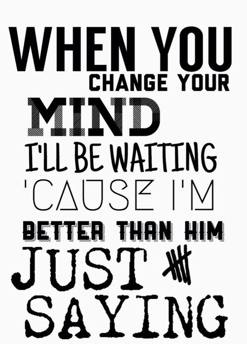 Best 5sos quotes and sayings about better mind