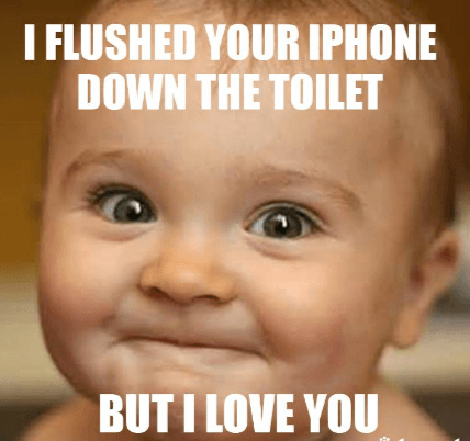 Cute baby funniest meme for friends - 76676