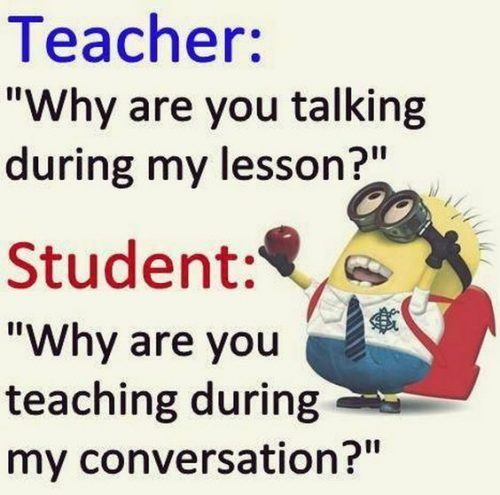 Funny teacher jokes memes - 866969