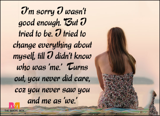 Truely Sad Lve Quotes And Messages About Past Love