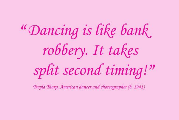 best dancing quotes