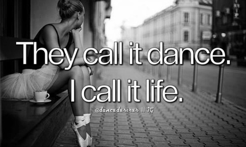 call it dance quotes