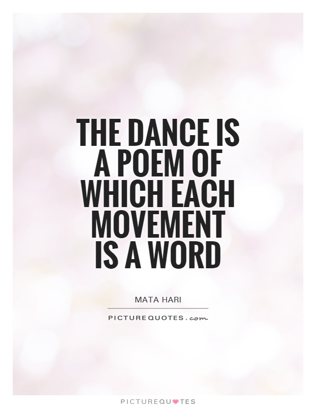dance is poem quotes