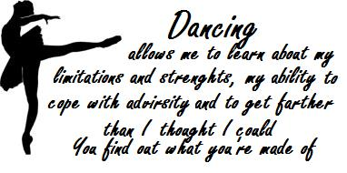 dance sayings n quotes