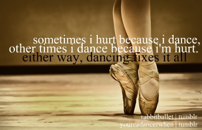 dancing fixes quotes
