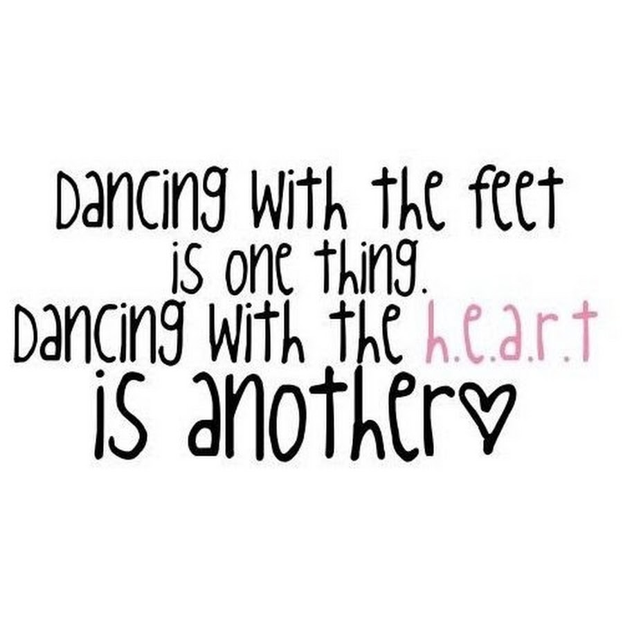 dancing sayings