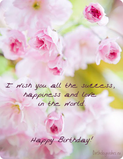 free happy Birthday wishes - birthday greetings 009