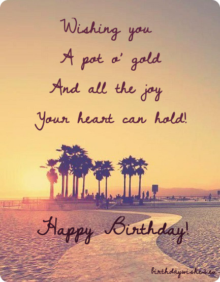 free happy Birthday wishes - birthday greetings 020