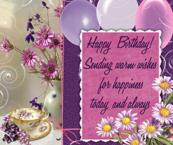 free happy Birthday wishes - birthday greetings 046