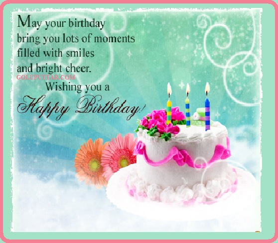 free happy Birthday wishes - birthday greetings 056