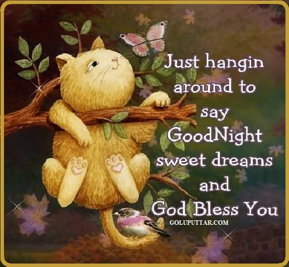 good night quote with blessings