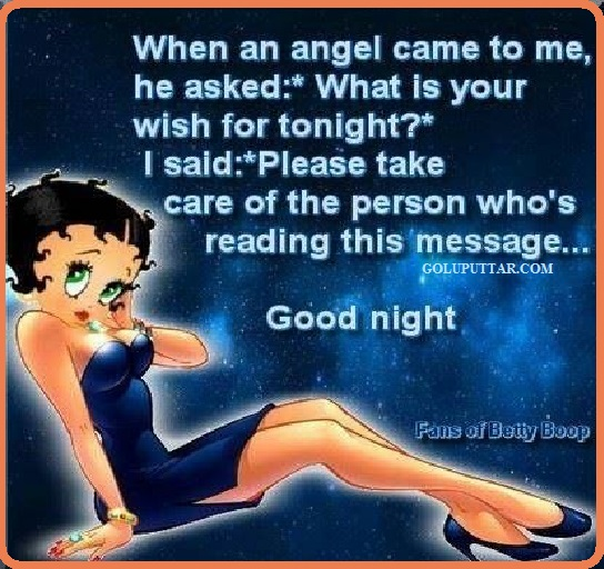 good night quote with love angle