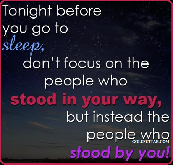 inspirational good night quote for you - 7979