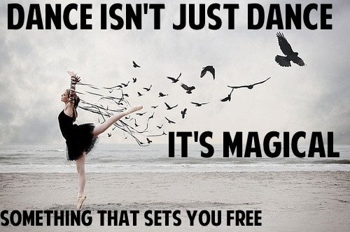 magical dance quotes