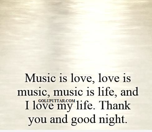 musical good night messages and quotes - 678768