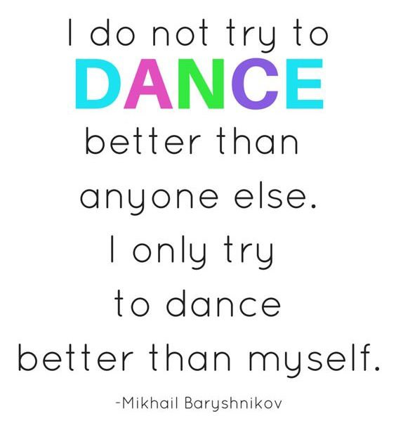 myself dance quotes