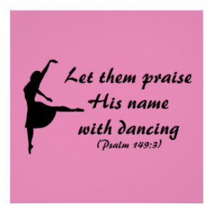 name with dancing quotes